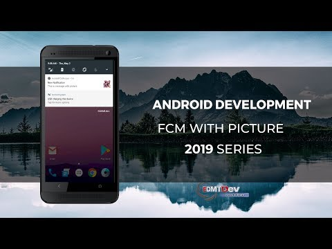 Android Development Tutorial - Send Picture With Firebase Cloud Messaging