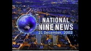 Repeat youtube video QTQ National Nine News December 21, 2002