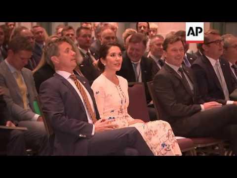 Danish royal couple visit Washington, D.C.