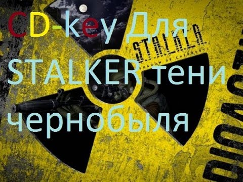 Где найти CD-key для S.T.A.L.K.E.R:Shadow of Chernobyl