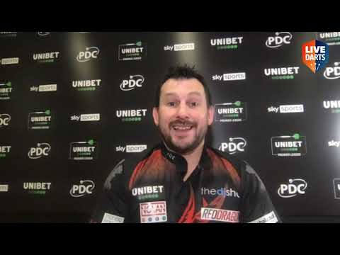 "Jonny Clayton on Premier League nine-darter: ""I'm bouncing – hopefully I can do another one!"""