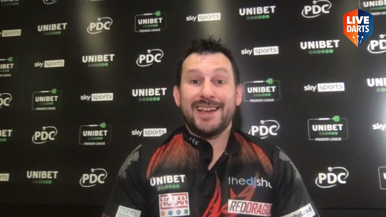 """Download Jonny Clayton on Premier League nine-darter: """"I'm bouncing - hopefully I can do another one!"""""""