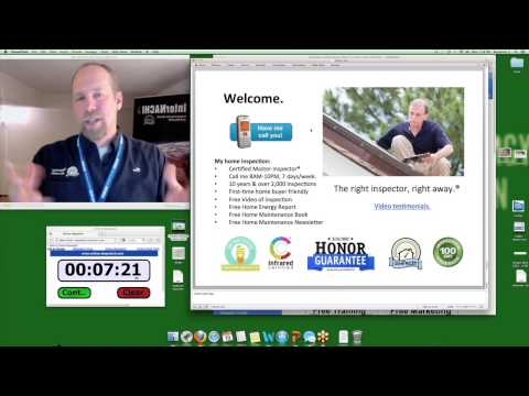 """Home Inspection Training Class: """"How to Increase Your Home Inspection Fee"""""""