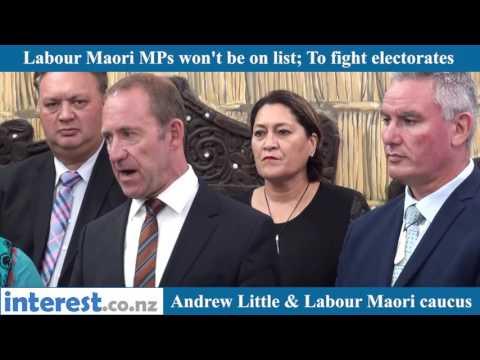 Labour Maori MPs won't be on party list; To fight electorates