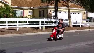 Mini Vespa, Super Fun, Pocket Vespa, 35 mph