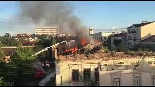 Пожежа в Бресті на вулиці Радянській 28 червня 2019
