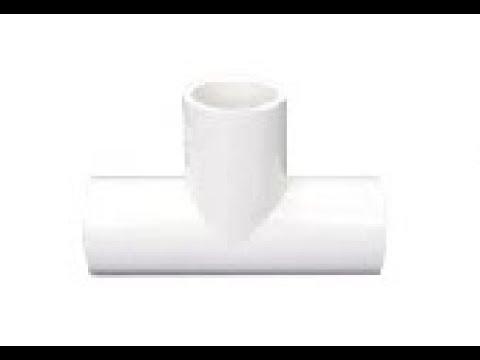 PVC Tee VG1 백색 .PVC 수도용 백색 티이.PVC VG1 White TEE.BWP