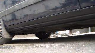Видео-отчёт: Частичная замена порогов Volkswagen Passat B3.