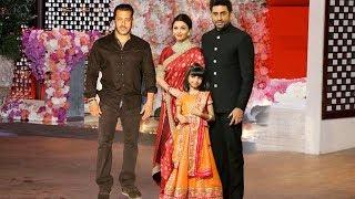 Salman Khan & Aishwarya Rai With Abhishek At Isha Ambani & Anand Piramal Wedding