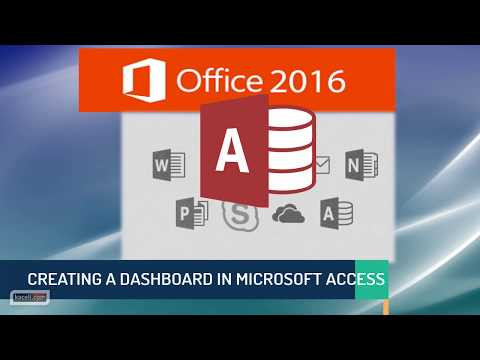 Creating a Dashboard or Switchboard in Access 2016