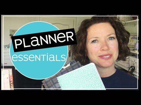 Planner Essentials | How to Determine Your Basic Planning Supplies