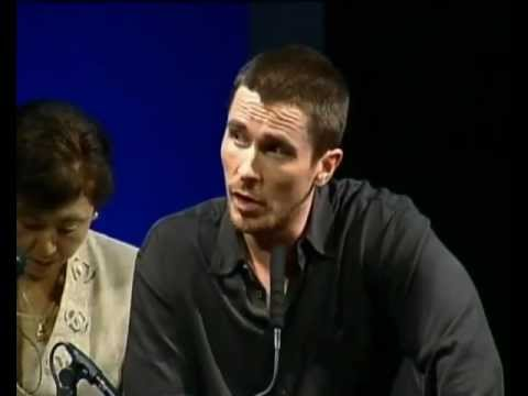 Christian Bale interview on Heath Ledger