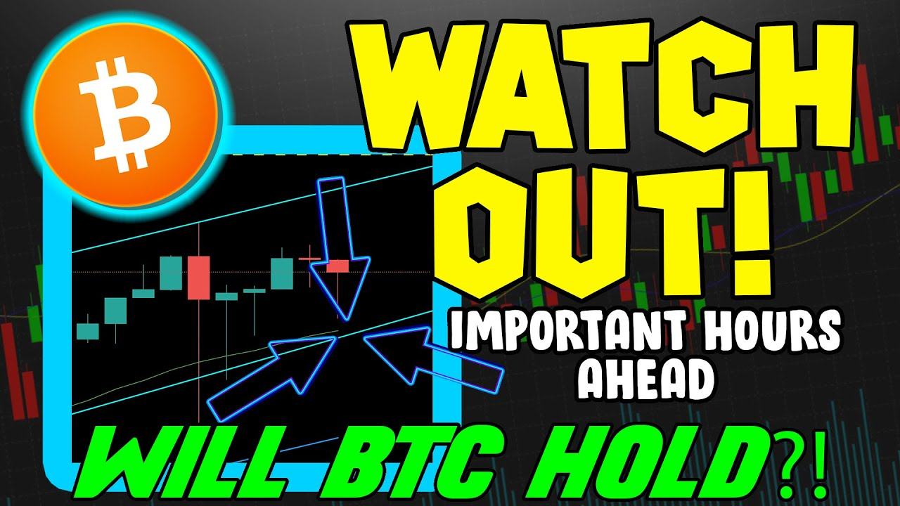 WATCH OUT! BITCOIN PRICE HITS CRITICAL SUPPORT LEVEL! BTC BOUNCE IN PLAY RIGHT NOW!