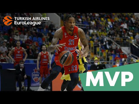 Turkish Airlines EuroLeague MVP for April: Will Clyburn, CSKA Moscow