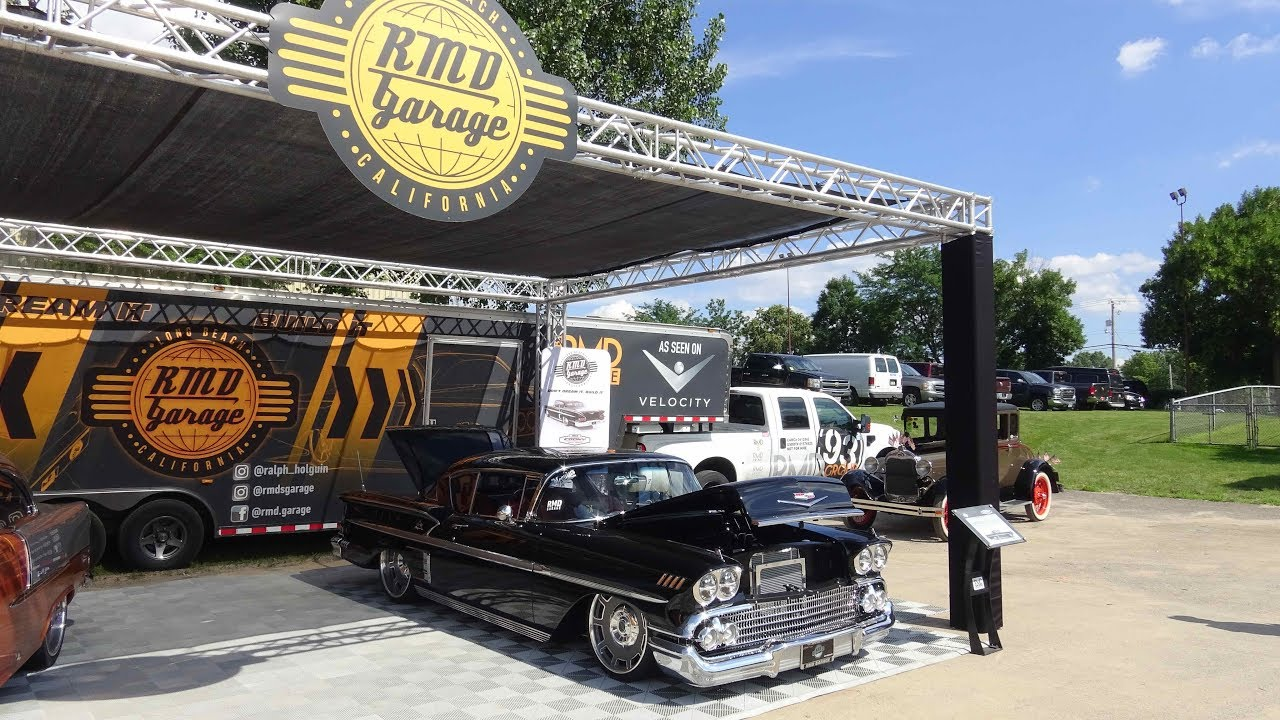 Ralph Holguin Of Rmd Garage Gives Us A Tour Of His Personal 1958