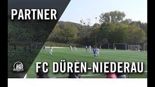 FC Düren-Niederau U17 - FC Pesch U17 (3. Spieltag, B-Junioren Mittelrheinliga)