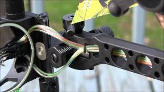 30 06 outdoors kp bow sight 5 pin elite model and 8 inch k3 stabilizer