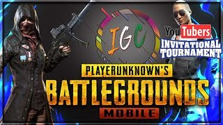 IGC INVITATIONAL TOURNAMENT II YOUTUBER VS YOUTUBER