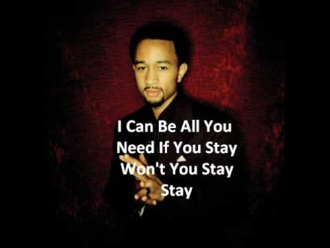 John Legend - Save room - With lyrics