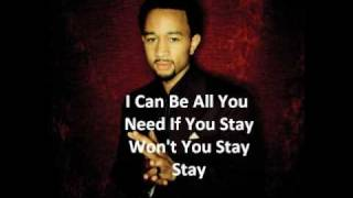 John Legend - Save room - With lyrics