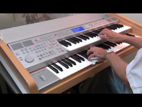RS400 RS480 ORGAN DEMONSTRATION BY ORLA DIRECT UK