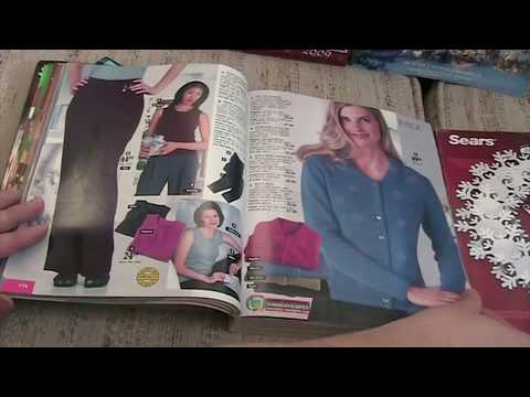 2000 Sears Catalog Nostalgia Christmas Wishbook - YouTube