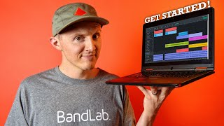 How to MAKE MUSIC with BandLab on a COMPUTER!