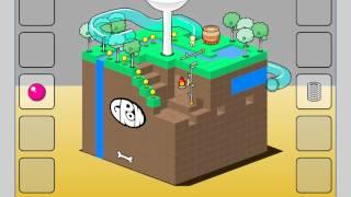 Прохождение Flash игры Grow cube.