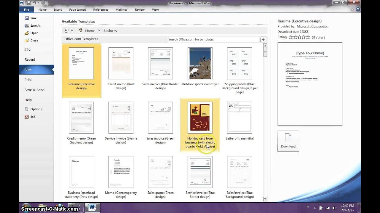 cara membuat leaflet dengan microsoft word 2010