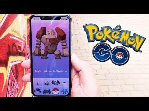 ¡CAPTURO REGIROCK! NUEVO LEGENDARIO en Pokémon GO!! [Keibron]