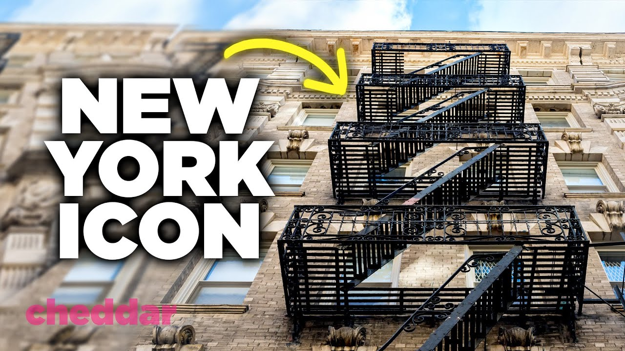 How The Flawed Fire Escape Took Over New York - Cheddar Explains