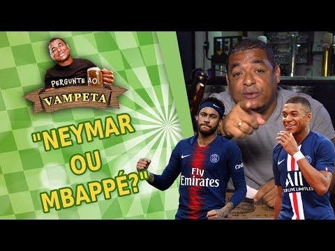 """""""NEYMAR ou MBAPPÉ?"""" PERGUNTE AO VAMPETA #10"""
