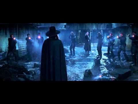 V For Vendetta - Final Fight Scene