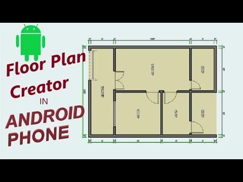 Floor Plan Creator in Mobile | Plan - 1 | MechEngi