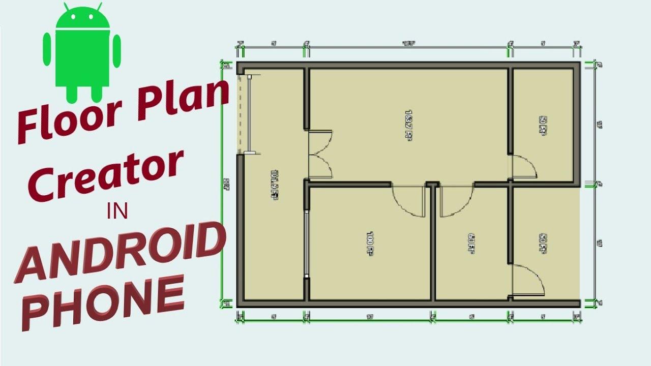 Floor Plan Creator In Mobile Plan 1 Mechengi Youtube