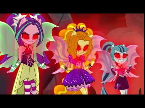 Welcome to the Show-My Little Pony Equestria Girls Rainbow Rocks Song中文字幕
