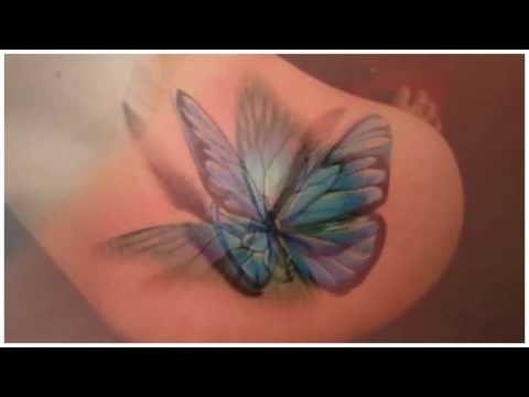 Realistic Butterfly Tattoos   Tattoo Designs for Girls