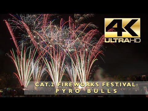 Music On Fire: Pyro Bulls - Cat.2 Fireworks Festival - Musikfeuerwerk Wettbewerb