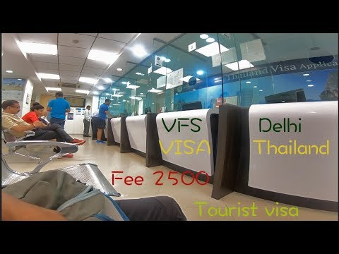 Delhi VFS || Inside  Thailand VFS || How To Apply Thailand Visa || Cycling || Pradeep Rana