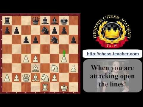 5 most important principles of attack in chess