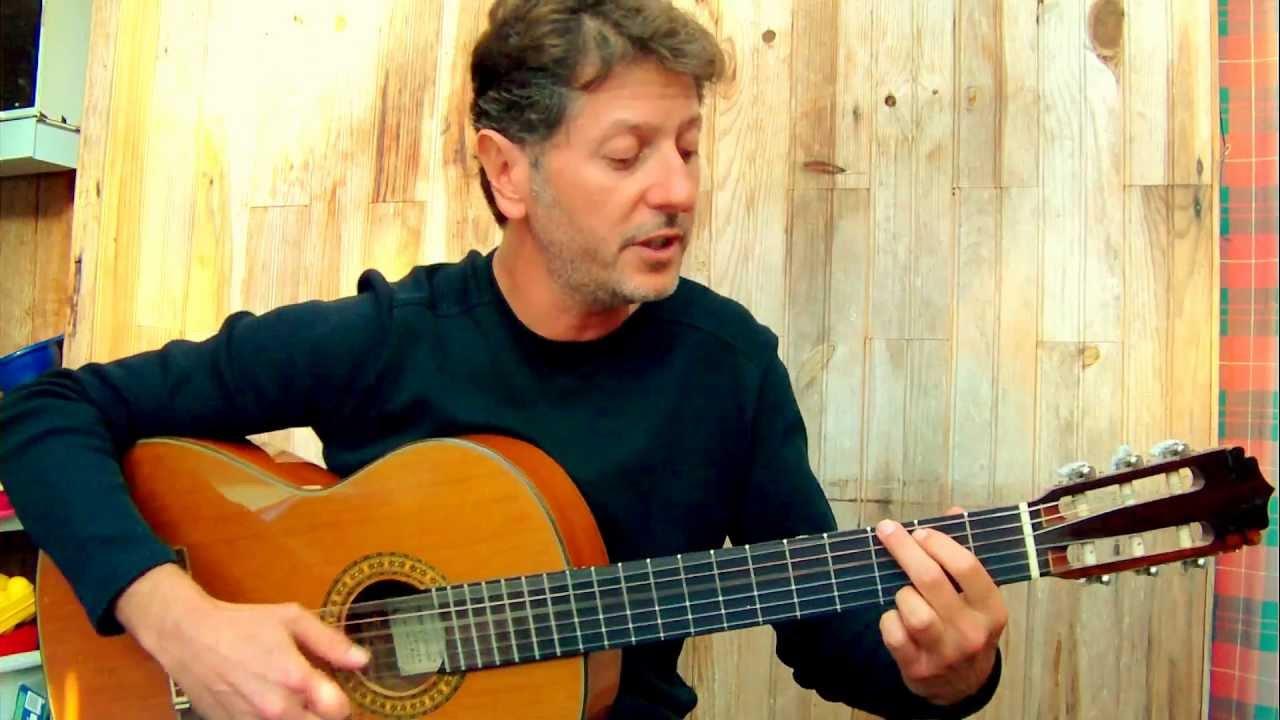 Les amoureux des bancs publics g brassens guitar - Les amoureux des bancs publics brassens ...