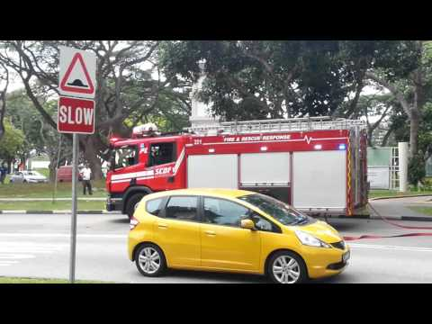 Fire break out @ bedok north Singapore - full footage