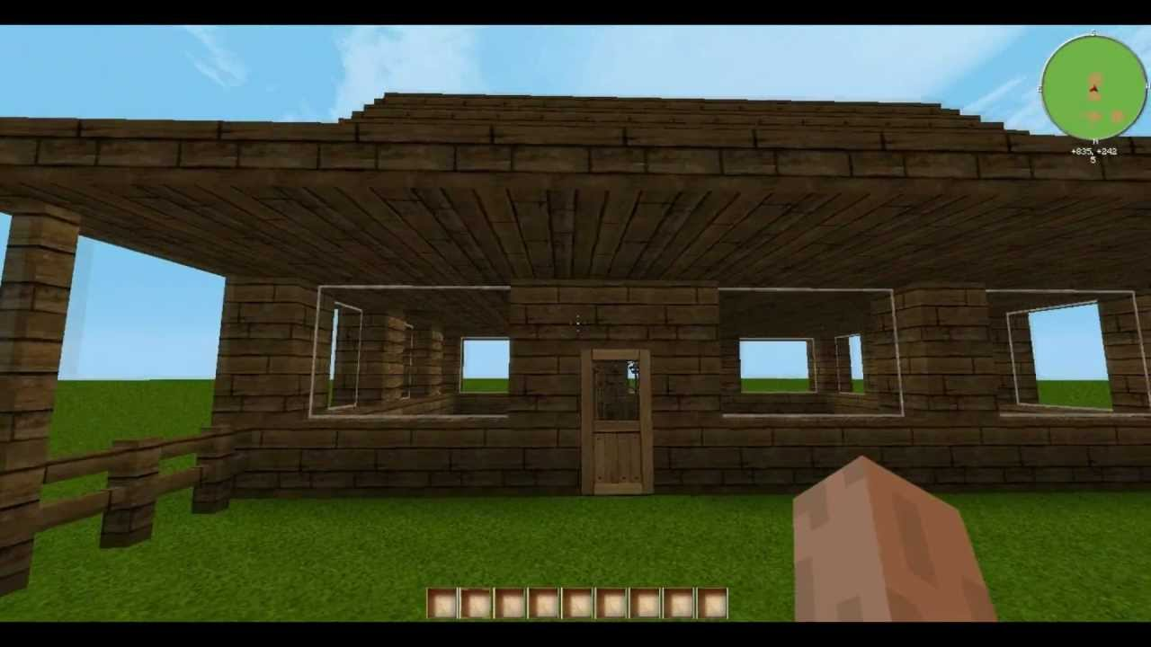 Minecraft let 39 s build holzhaus youtube - Minecraft holzhaus ...