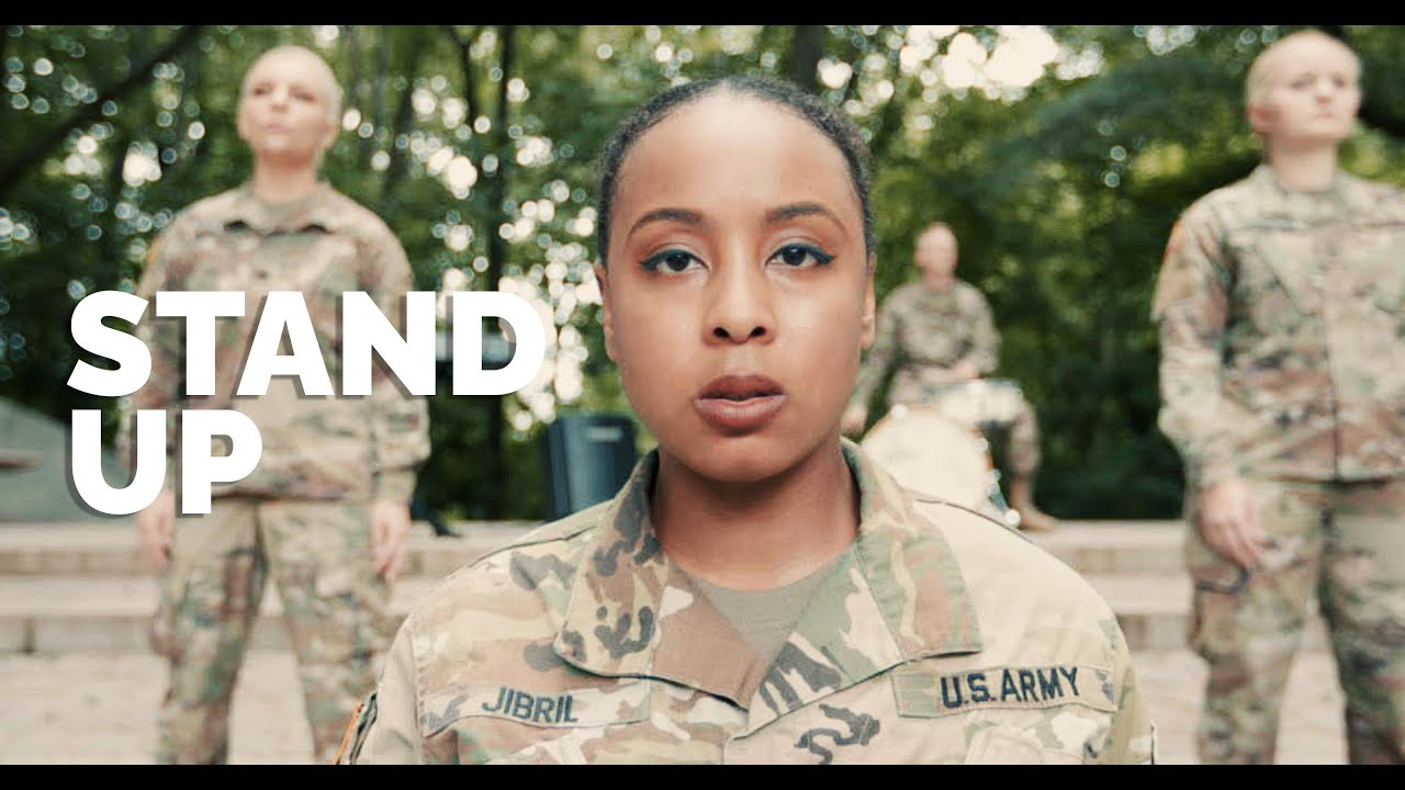 """""""Stand Up"""" from the film Harriet performed by The U.S. Army Voices, with Sgt. 1st Class Adiza Jibril"""