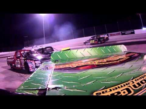 Houston Motorsports Park Truck Feature In-Car Hightlights SportActionCam 4-21-12