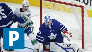 Kole Lind on Canucks 4-1 loss to Maple Leafs   The Province