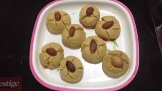 Nankhatai preparation in microwave   Home Style Nankhatai recipe in hindi   Indian cookies preparati