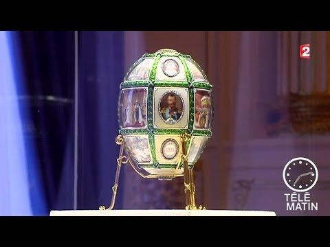 Sans frontières - Moscou : Quand Fabergé dessine la poule aux oeufs d'or