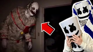 WE BOUGHT A KILLER CLOWN OFF THE DARK WEB.. Reaction