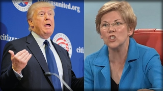 KNOCK OUT! ELIZABETH WARREN GOT HER CAREER ENDED WHEN TRUMP SAID 2 WORD TO HER!(Sub for more: http://nnn.is/the_new_media | Paris Swade for Liberty Writers reports, Knock out! Donald Trump just took down Elizabeth Warren. He called her ..., 2017-02-12T04:50:57.000Z)